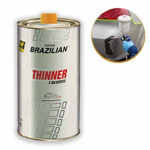 Diluente Para Pu Tintas Brazilian 900ml