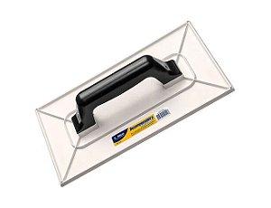 Desempenadeira Plástico Aplicação de Textura 30x17cm Atlas