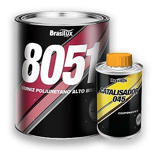 Verniz Automotivo Alto Brilho 8051 C/ Catalisador Brasilux
