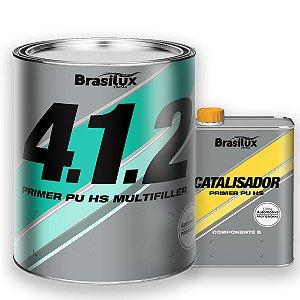 Primer Pu Hs 412 Multifiller C/ Catalisador Brasilux
