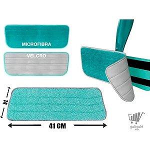 Kit 4 Refil Mop Spray Esfregão Vassoura Mágica Rodo Limpeza
