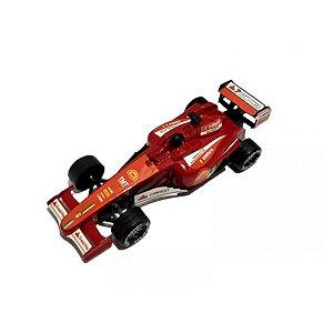 Carrinho Corrida Brinquedo Vermelho BF111020
