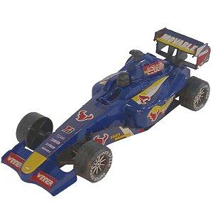 Carrinho Corrida Brinquedo Azul BF111020