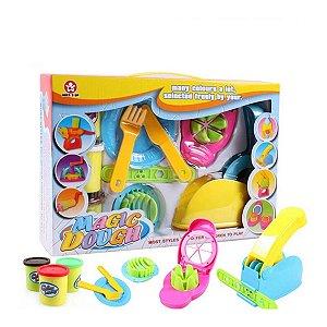Brinquedo Educativo Massinha Modelar Kit Cozinha