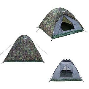 Barraca de camping camuflada NTK Selvas 3/4 pessoas