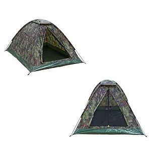 Barraca de camping camuflada NTK Kongo 3 pessoas