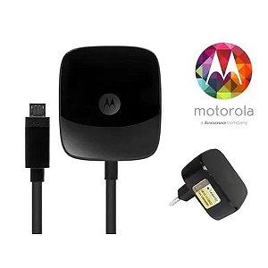 Fonte Carregador Motorola Turbo 3.0 + Cabo USB Home Charge