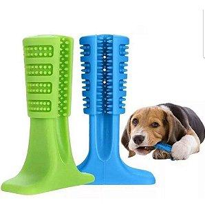 Mordedor Brinquedo Escova Dente Pet Cachorro Médio