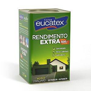 Tinta Acrílica Eucatex Rendimento Extra 18L Areia