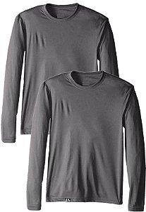 Kit com 2 Camisetas Proteção Solar Uv 50