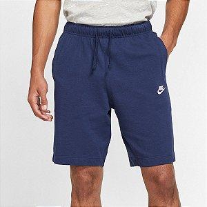 Bermuda Nike NSW Club JSY Masculina - Marinho