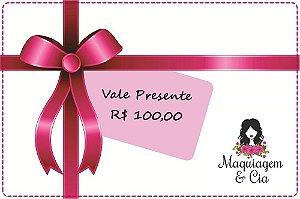 Vale Presente 100 reais