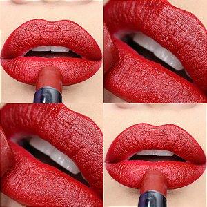 Batom Vermelho Frisson Matte Coisas de Quem Ama Dailus Color - Cor 06