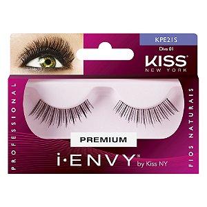 Cilios Postiços Diva 01 I-ENVY Kiss New York - KPE21S
