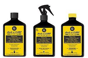 Kit Completo Onde o Cloro Não Tem Vez Lola Cosmetics - Shampoo - Condicionador e Spray