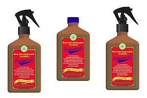 Kit Rapunzel Lola Cosmetics Cronograma do Crescimento - Shampoo - Milk Spray e Tônico