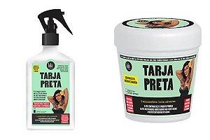Tratamento Reconstrutor Tarja Preta Lola Cosmetics - Queratina Liquida e Máscara