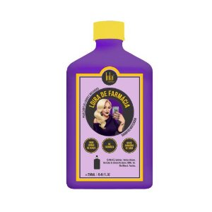 Shampoo Matizador para Cabelos Loiros e Mechados Loira de Farmacia Lola Cosmetics 250 ml