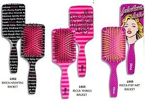 Escova Ricca Racket para Cabelo
