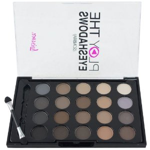 Paleta com 20 Sombras Nude Matte Play The Eyeshadows - Luisance