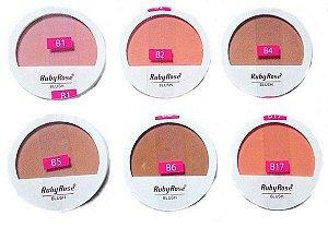 Blush em Pó Ruby Rose HB-6104 - 9,4g