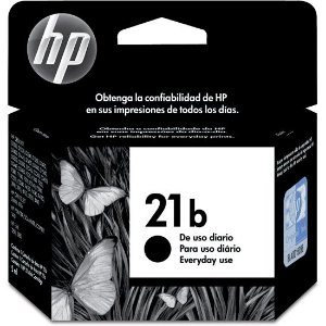 Cartucho Original HP 21B Preto C9351BB