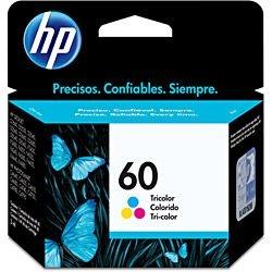 Cartucho Original HP 60 Colorido - CC643WB