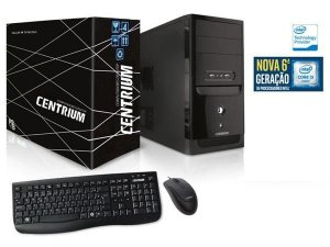 COMPUTADOR INTEL CENTRIUM  FASTLINE 6100 INTEL CORE I3-6100 3.7GHZ 4GB 1TB LINUX
