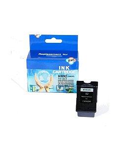 Cartucho Compatível C/HP 92 HN Preto 13 ml