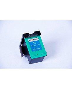 Cartucho Compatível C/HP 93 Colorido 14 ml