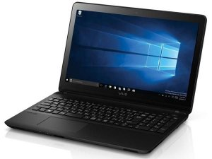 NOTEBOOK VAIO  COM TECLADO NUMÉRICO VJF153B0111B FIT 15F I3-5005U 1TB 4GB 15,6 LED WIN10 USB 3.0 HDMI PRETO