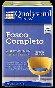 FOSCO COMPLETO CINZA LUNAR 18L -QUALYVINIL