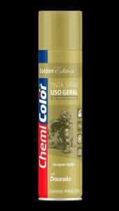 spray chemicolor dourado 400ml