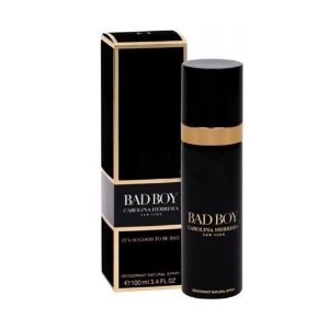 DESODORANTE SPRAY CAROLINA HERRERA BAD BOY MASCULINO 100 ML