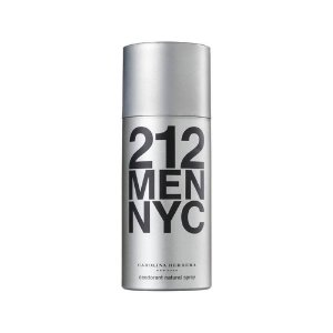 DESODORANTE SPRAY CAROLINA HERRERA 212 MEN NYC MASCULINO 150 ML