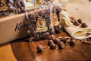 Gotas de Chocolate sabor café - cafezinho