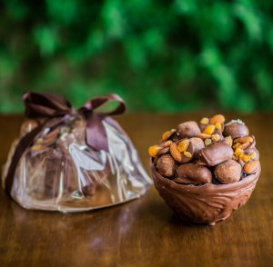 Ninho de Trufas de chocolate