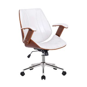 Cadeira Lisboa Office Diretor Branca