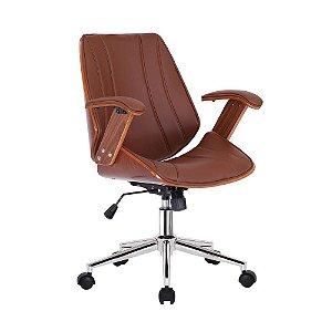 Cadeira Lisboa Office Diretor Marrom