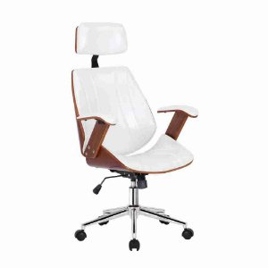 Cadeira Lisboa Office Presidente Branca
