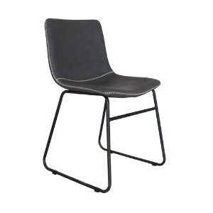 Cadeira Oxford Preto Vintage