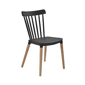 Cadeira Windsor Preta