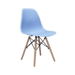 Cadeira Eames Azul Bali
