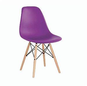 Cadeira Eames Roxa