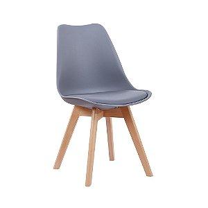 Cadeira Leda Cinza Escuro