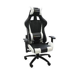 Cadeira Pro Gamer V2 Preta com Branco