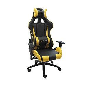 Cadeira Pro Gamer V2 Preta com Amarelo