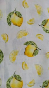 Tecido Limão Sicliano Caldeira 100% Algodão