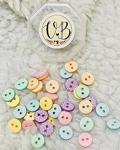Botão Candy Colors Poá