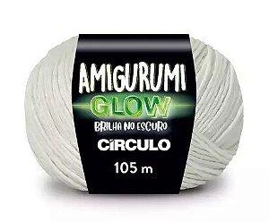 Amigurumi Glow Brilha no Escuro  Círculo 105m 100% Poliéster